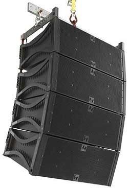 caixas  de som incluindo projetos line array