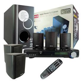 Caixas De Som Nks 5.1 Home Theater Controle Remoto Total