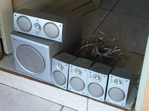 caixas de som philips sony aiwa gradiente lg panasonic