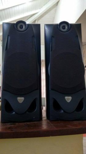 caixas de som philips usadas bem conservadas