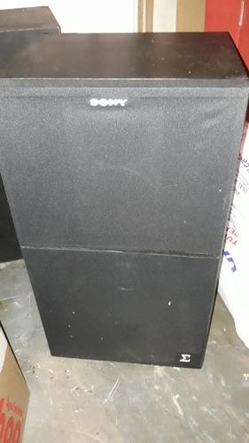 caixas de som sony ss-s405bs - funcionando perfeitamente