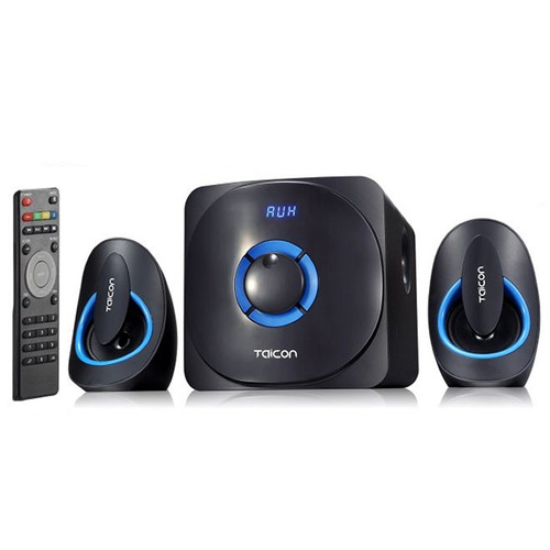 caixas de som + sub 48 w bluetooth 3.0 sd usb fm + controle