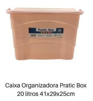 caixas organizadora para brinquedos pratic box 14 peças