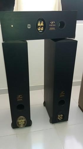 caixas paradigm studio 60. marantz, bw, dalli.