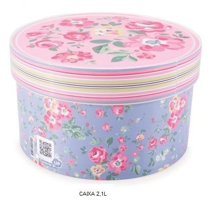 caixas redonda organizadora floral - 03 caixas frete gratis