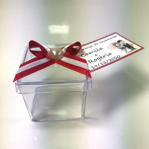 caixinha 4x4cm decorada lembrancinha ou docinhos kit com 100