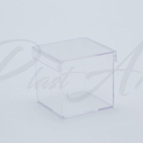 caixinha acrilica 100 und 5x5 pronta entrega
