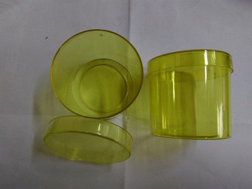 caixinha de acrilico 4,5x5cm (120 peças)p/lembrança