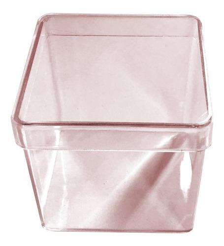 caixinha de acrilico quadrada (1000pcs) caixa lembrancinha