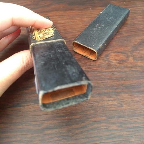 caixinha de navalha bismarck antiga made in germany.