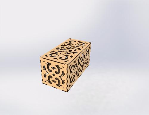 caixinha decorativa/presentes em mdf cru