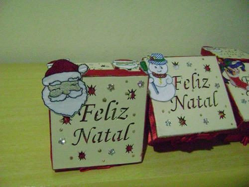 caixinha feliz natal