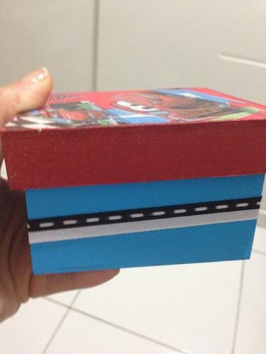 caixinha mdf pintada à mão com decoupage 10x10. vários temas