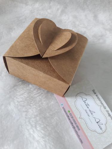 caixinha para pão de mel, bem casado etc. kit c/300