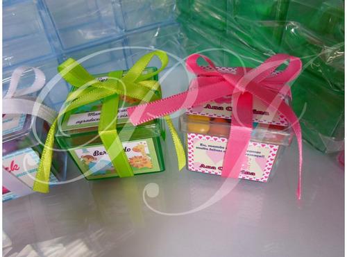 caixinhas de acrílico personalizadas/ latinhas/lembrancinhas