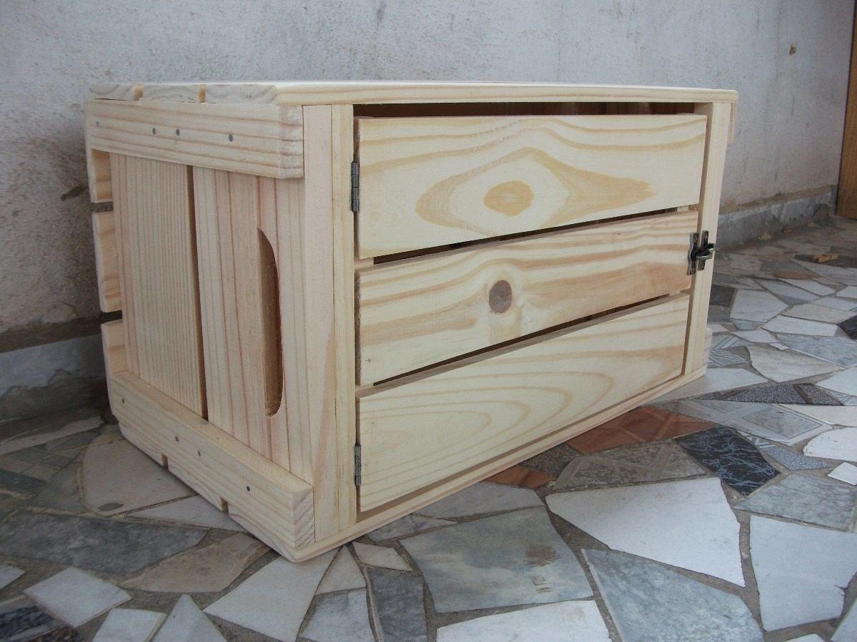 Caixotes De Feira Padrão Com Porta ( Madeira ) Novo R$ 74 99 em  #5C4A40 1200x900