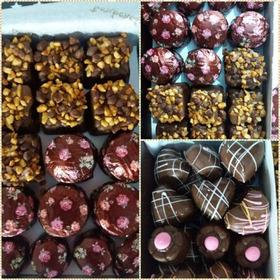 Caja 1 Kilo Bombones De  Chocolate Artesanales Por 1 Kg