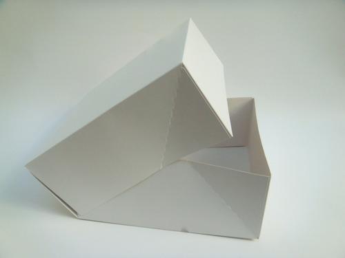 caja 1 pieza pegada 32x32x13 cm (x 50 u.) tortas desayunos ajuares delivery - 031 bauletto