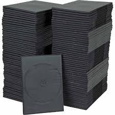caja 10 estuches para discos dvd ultra delgado