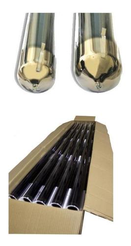 caja 10 tubos para termotanque solar