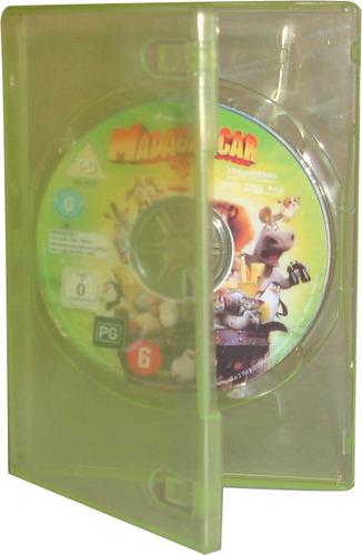 caja 14mm verde transparente simple dvd