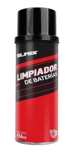 caja 15 pz limpiador baterias de auto aerosol 454ml silimex