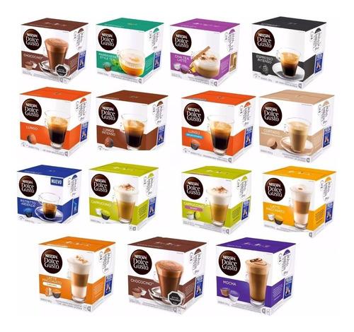 caja 16 capsulas dolce gusto! belgrano lleva 5 envio gratis!
