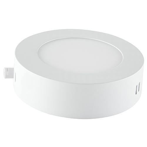 caja 2 pzas. lámpara led redonda para sobreponer 18 w