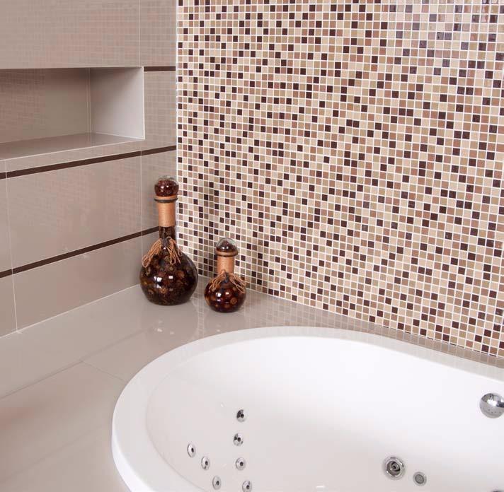 Caja 22 pzs azulejo mosaico veneciano cocina o ba os cafe for Cubrir azulejos cocina