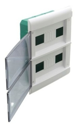 caja 24 modulos din embutir tablero schneider para termicas