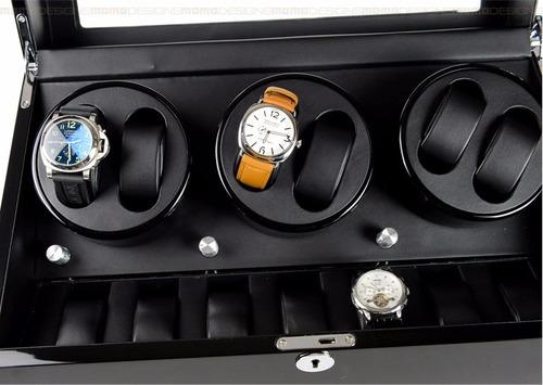caja 6 relojes automatica / asia import trading