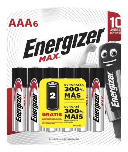 caja 72 pilas alcalinas energizer max aaa blisters cerrados - importadora fotografica - distribuidor oficial energizer