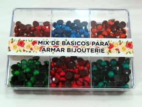 b87e31a648d6 Caja Acrílica Con Medias Perlas Para Pegar 10mm - Ml-486