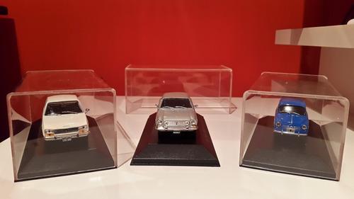 caja acrilica para autos 1/43 - autos inolvidables salvat