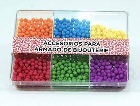 3f0846b23125 Caja Acrílicas Con Cuentas Plásticas 5 Mm Opacas - Bijo