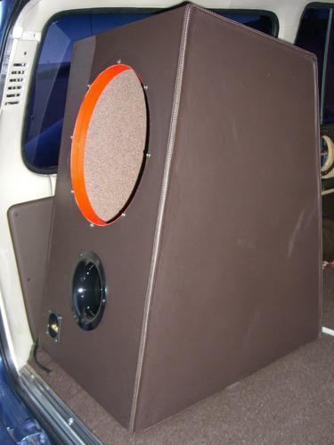 caja acustica profesional para bajos de 15 pulgadas