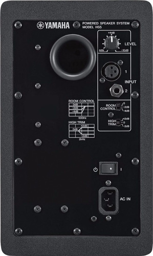 caja acustica yamaha hs5 monitor activo 5  c/u