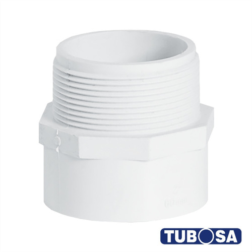 caja adaptador macho 1 presion tubosa