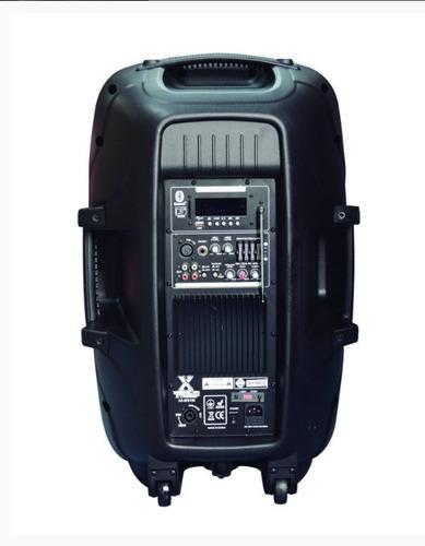 caja amplificacion 15  50000w negro