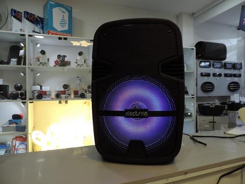 caja amplificada 12  bat. recargable usb blu fm microf. inal