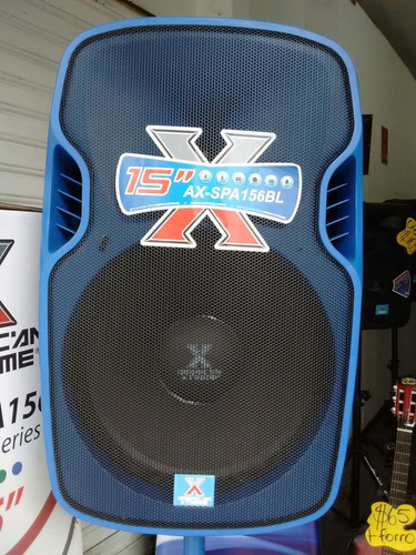 caja amplificada 50.000watts pmpo american xtreme