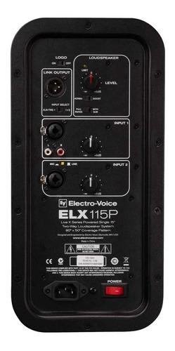 caja amplificada electrovoice elx115p