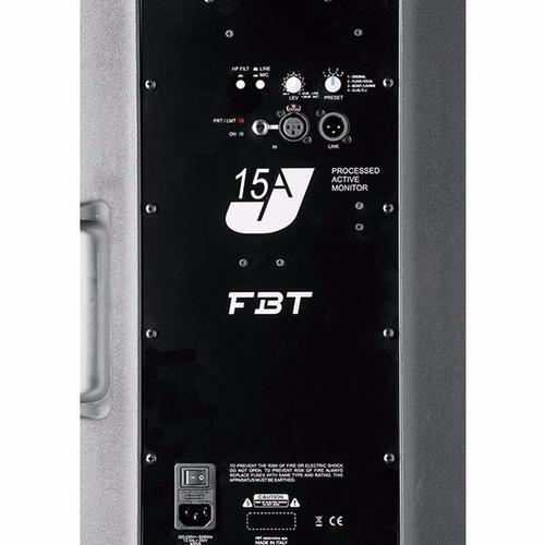 caja amplificada fbt j15a italiana de 1000 watts
