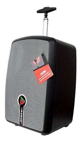 caja amplificada italy audio itl204 8  recargable negro