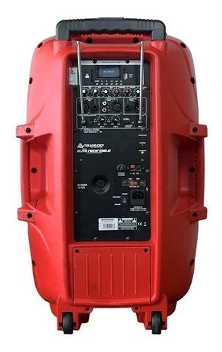 caja amplificada italy audio pro 15 azul 20000w recargable