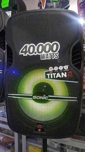 caja amplificada sonic 40000 watts nuevo