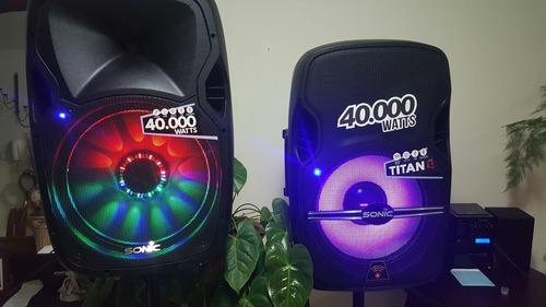 caja amplificadas led 40000 watts nuevos