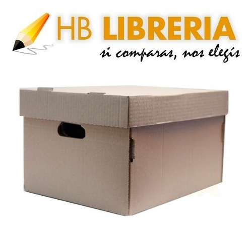 caja archivo carton americana reforzada 42x32x25 x10 oficio