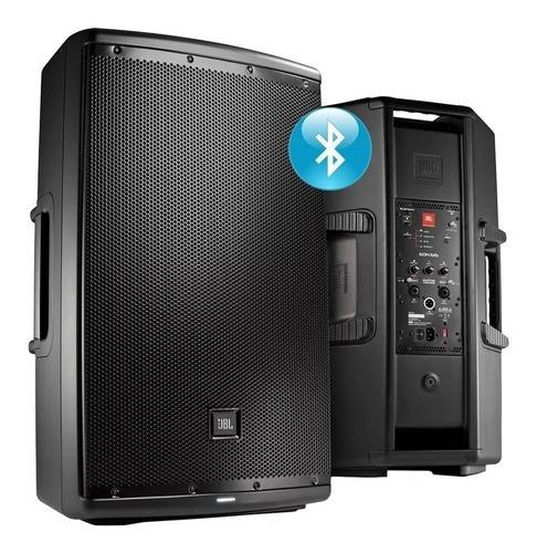 caja bafle potenciado jbl eon615 1000w activo bluetooth