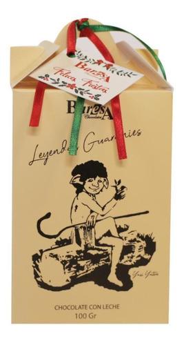caja  baresa  chocolate con leche  100gr